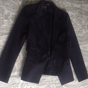 Express navy blue blazer!! Size 6 barely worn!!